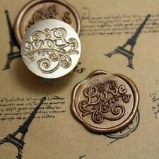 Love Symbol Initial Letter Sealing Wax Seal Stamp Classic Vintage Kit