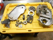 1980 ARCTIC CAT JAG 3000 fan: COMPLETE CHAINCASE w INARDS