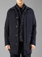 VICTORINOX SS14 BELMONT OVERCOAT PARKA W/REMOVABLE QUILTED LINER GILET NAVY XL