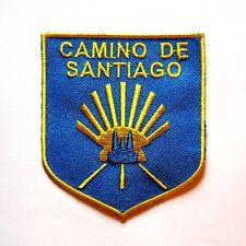Andenken Souvenir Jakobsweg Compostela Aufnäher Camino De Santiago Pilger
