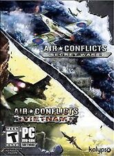 Air Conflicts: Secret Wars/Air Conflicts: Vietnam (PC, 2014) *New,sealed*