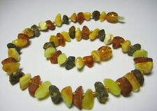 Genuine Raw Baltic Amber Baby  Necklace 33cm .13inch