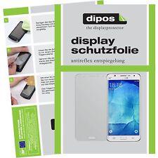2x Samsung Galaxy J7 Schutzfolie matt Displayschutzfolie J 7 J700F Folie dipos