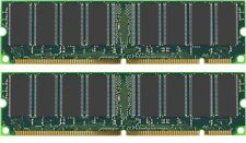 1GB KIT ( 512MB x2) PC133 PC100 PC-133 RAM SDRAM MEMORY TESTED