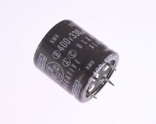 8x 330uF 400V Radial Snap In Mount Electrolytic Capacitor DC Audio 105C 330mfd