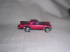 Hot Wheels Real Riders 57 T-Bird Ruby Flake Red Made in Hong Kong 1981