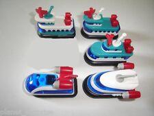 HOVERCRAFTS 1994 MODEL BOATS & SHIPS SET - KINDER SURPRISE TOYS MINIATURES