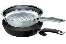 Fissler 2 Pfannen crispy steelux premium + protect alux premium 28 cm Cookstar