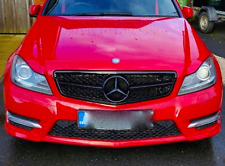 Nuevo Mercedes-Benz W204 C-Clase Facelift Rejilla Frontal Estilo C63 brillo del panel 2011