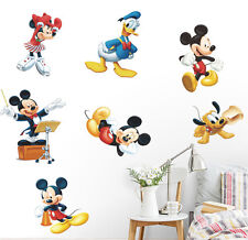 Mickey Mouse Minnie Vinyl Mural Wall Stickers Decals Kid Nursery Room Home Decor