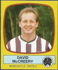PANINI FOOTBALL 88-#155-NEWCASTLE UNITED-DAVID McCREERY