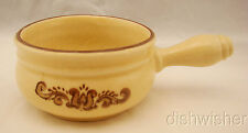 "Pfaltzgraff #295 VILLAGE (USA) Onion Soup Handled Bowl(s) 7"" x 4 3/8"" x 2 1/2"""