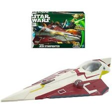 STAR WARS A0877/A0880 THE CLONE WARS OBI-WAN'S JEDI STARFIGHTER NEU & OVP!