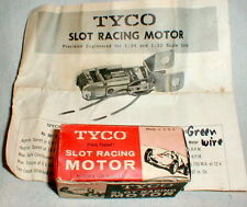 TYCO 902 12 Volt In-Line motor 1960 Vintage SlotCar NOS Photocop Instructions