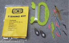 NEW - BCB Lightweight Bushcraft Emergency Liferaft Survival Fishing Kit