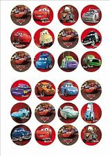DISNEY CARS tazza fata torta decorazione decorazioni per x 24 in glassa