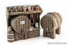 The beer stand - D&D, Mordheim, dungeon terrain, dwarven forge, pathfinder, rpg