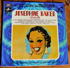 33t Josephine Baker chante - Du caf conc' au Music-Hall n°2 (LP)