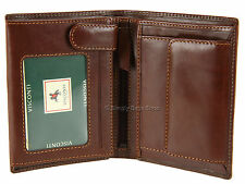 Visconti Mens Top Grade Italian Style Leather Wallet For Cards, Banknotes - MZ3