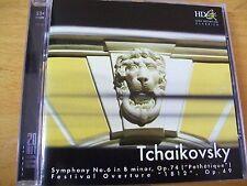 TCHAIKOVSKY SYMPHONY N 6 PATHETIQUE,FESTIVAL OVERTURE J.KAKHIDZE  CD