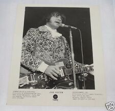 1968 Joe South 8x10 Capitol Records Publicity Photo Featuring Joe and Vox Guitar