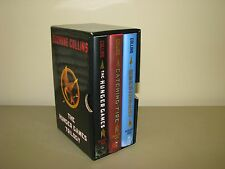 The Hunger Games Trilogy Boxed Set Suzanne Collins First Edition HC/DJ