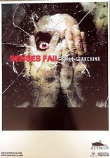 Senses Fail /Protest The Hero - Rare Original Promo Mini Poster 12 x 16.5 Inches