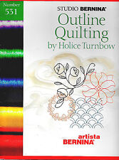 OUTLINE QUILTING #531 Embroidery Card - for Bernina Artista165/170/180/185/200
