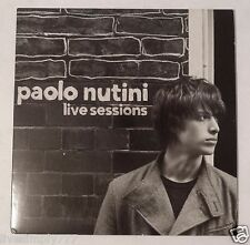 PAOLO NUTINI LIVE SESSIONS RARE PROMO CD ALBUM 2006