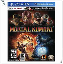 PSV Mortal Kombat SONY Playstation VITA Action Games Warner Home Video