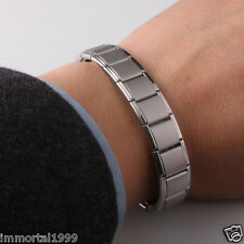 Bracelet Titanium 80 Germanium,Nano énergie magnétique,Antifatigue Anti-stress