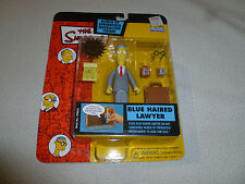 NEW ON CARD THE SIMPSONS BLUE HAIRED LAWYER FIGURE SERIES 11 INTELLI-TRONIC NOC