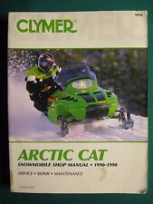 ARCTIC CAT SNOWMOBILE SHOP  MANUAL 1990  - 1998