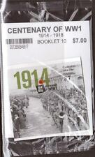 AUSTRALIA,  2014 CENTENARY OF WW 1, BOOKLET MNH COMPLETE,