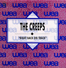 THE CREEPS-RIGHT BACK ON TRACK SINGLE VINILO 1990 PROMOCIONAL SPAIN