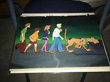 Vintage Original Production cel/background Setup -Scooby Doo Where Are You? 1969