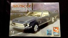 Model Kit 1968 Ford Mustang Shelby GT-500 AMT Muscle 1:25 Scale
