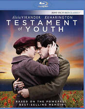 Testament of Youth [Blu-ray],Very Good DVD, Colin Morgan, Dominic West, Kit Hari