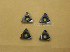 10Pcs 16ER1.0 ISO (Pitch 1.0mm) ISO Metric External Carbide Threading Inserts