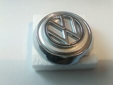 VW VOLKSWAGEN KARMANN GHIA HOOD EMBLEM AND BASE  1963-1974 141853601BST
