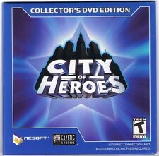 City of Heroes: Collector's DVD Edition (PC, 2004) Disc & Sleeve Only