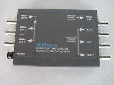 AJA Model D10C AD Serial Digital to Analog Convertors with Power Supply