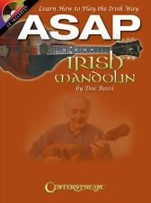 ASAP Irish Mandolin by Doc Rossi Learn How To Play The Irish Way Music Book & CD