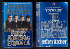 Two large paperback books by Jeffrey Archer