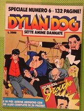 TIZIANO SCLAVI-DYLAN DOG SPECIALE N.6-SETTE ANIME DANNATE-BONELLI EDITORE
