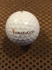 LOGO GOLF BALL-EAGLEWOOD GOLF RESORT AND SPA....ILLINOIS