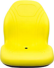 JOHN DEERE YELLOW SEAT FITS 4200, 4500, 4210, 4310, 4400, 4700 REPLACES LVA10029