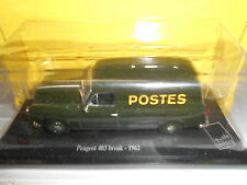 PEUGEOT 403 BREAK 1962 LA POSTE ATLAS EDITIONS 1:43