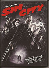 SIN CITY DVD  2006  ORIGINAL DVD  SLIGHTLY USED CONDITION