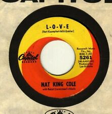 Nat King Cole LOVE / I don't want to see to- Guaranteed Original - New Old Stock